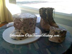 marine corps groom's cake | Marine Corps Bonnet Grooms Cake | So cool