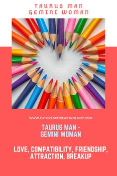 Taurus and Gemini. Earth + Air The compatibility between Gemini and Taurus is not very high because although the planets Venus and Mercury, which rule Taurus and Gemini respectively, get along well, there are some important differences in the basic motivations and personality of both signs. Taurus is a firm man, both in his decisions and in ... Read more Taurus Man Gemini Woman, Taurus Man In Love, Taurus And Gemini, Love Facts, Fun Facts, Taurus Relationships, Gemini Quotes, Love Compatibility, Sun Sign
