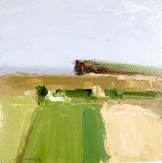 Stuart Shils b. 1954 Fields Near Ballycastle I,  1994