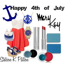 Happy 4th of July, created by stetsonkpatton on Polyvore