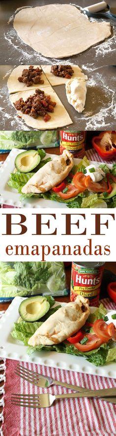 Try Beef Empanadas f