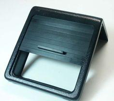 FJ Cruiser Roll-top Console Cover Insert - Panamint with Black Anodized Aluminum Slats         PureFJCruiser.com