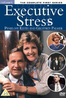 Executive Stress (1986–1988) Stress Images, Penelope Keith, British Comedy, Comedy Tv, Return To Work, Vintage Tv, Period Dramas, Movies Showing