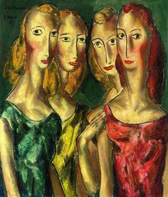 The Athenaeum - Four Sisters (Alfred Henry Maurer - )
