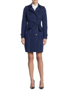 Burberry | Kensington Trench Coat |  Xwalker.com
