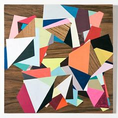 Fiona Curran ~ Someone Stole My Record Player, 2009, Acrylic on veneered wooden panel