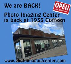 We are back in our old building with a fresh new look! Stop by and see us. www.photoimagingcenter.com