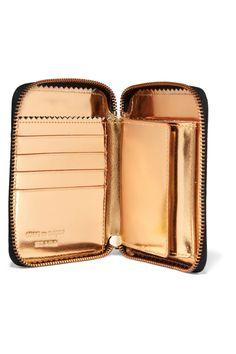 298a616cfff6 Comme des Garçons - Glossed-leather wallet