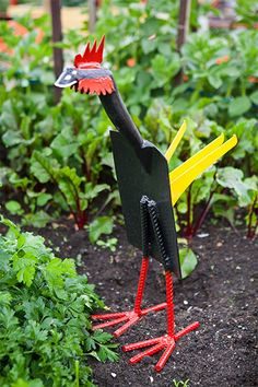 How to make a Shovel Bird step by step