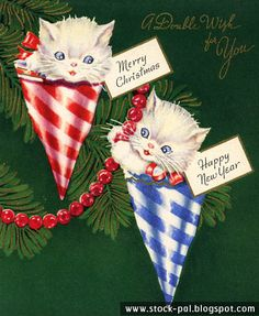 Vintage Holiday Images & Cards: Very Vintage Vol.3 Christmas Cards