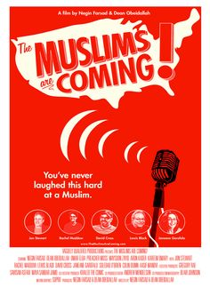The comedy documentary I co-directed The Muslims are Coming! opens this Friday in Seattle, LA and Chicago. Sept 20 opens in NYC and Sept 27 in Boston and New Brunswick, NJ- Details www.themuslimsarecoming.com
