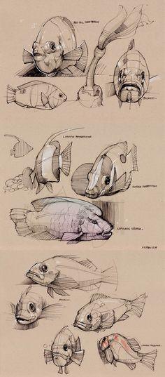 Verano 2011 Sketches 6 - los animales acuáticos - Mínimamente Minimal