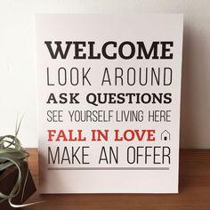 Listing Welcome Sign - No.1 L Bend #realestatemarketingplan #realtorlicense #realtormarketing