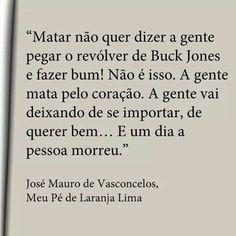 """""""Meu pé de laranja lima"""" - José Mauro de Vasconcelos"""