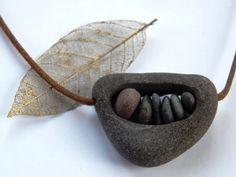 Steine aushöhlen