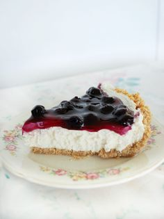 No-Bake Blueberry Cheesecake: I just made this the other night and not only was it super easy, it was also delicious! The name is a little deceiving since you actually do have to bake the crust for 10 minutes, but still.