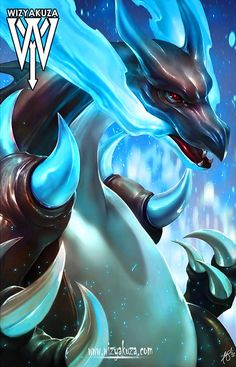 Mega charizard by wizyakuza Pokemon Charizard, Charmander, Pokemon Dragon, Pokemon Fan Art, Pokemon Memes, Pokemon Cards, Pokemon Stuff, Hunter Pokemon, Anime Characters