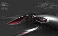 Tesla try outs... by Arthur Martins, via Behance