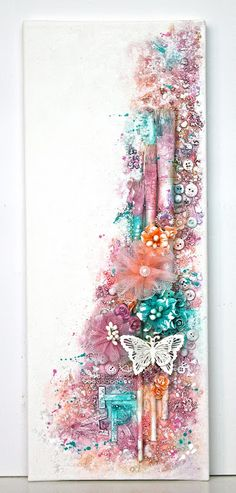 art canvas 50x20cm by Ingrid                                                                                                                                                                                 More