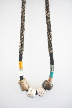 object/totem - 4-Bead Necklace