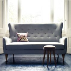 Great sofa! (although not for slouching) /Fenton Winged Back Sofa.