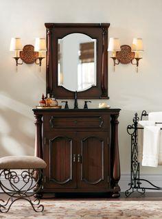 Choose a single bath vanity that has impeccable style. HomeDecorators.com