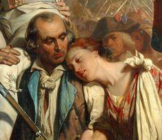 Paul Delaroche,The Conquerors of the Bastille before the Hotel de Ville, 1839
