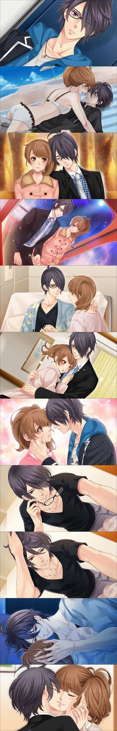 Brother conflict. Azusa and Ema, i love this pairing❤