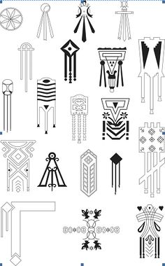 Dacian symbols on houses from Romania Textile Pattern Design, Geometric Pattern Design, Textile Patterns, Ancient Symbols, Ancient Art, Hand Symbols, Pierre Frey, Clay Design, Sacred Art