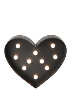 heart marquee light #typoshop #lights #heart #marquee