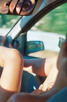Feet on the dashboard gettaway roadtrips