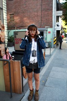 Korean street fashion 2013 #boyishlook