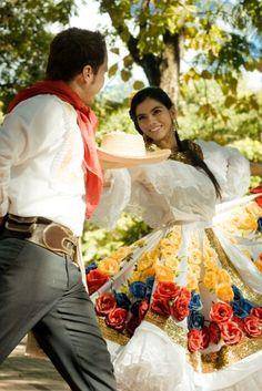 Bambuco folk dance of Colombia