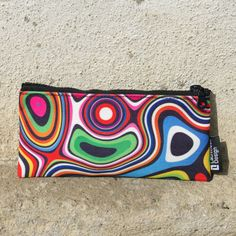 """Small case """"Rainbow waves"""" Express your personal style! Small carrying cases for kids and adults! Whatever may your style be, vintage or romantic, cute or crazy, this unique case is available in a set of eleven exciting designs and becomes an essential accessory for all!"""