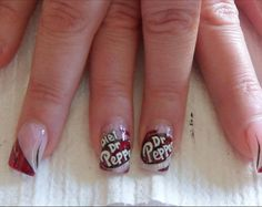 anyone who knows me knows I love my Diet DR.Pepper.. I may just have to do this sometime :)
