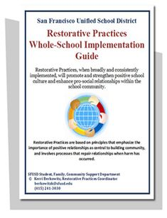 Sample Restorative Practices Strategic Plan Pdf Here HttpWww
