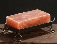 Himalayan salt plate on pinterest salts cooking and for Cooking fish on a salt block