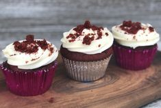 Bake moist and delicious Red Velvet Cupcakes with our Cream Cheese Frosting