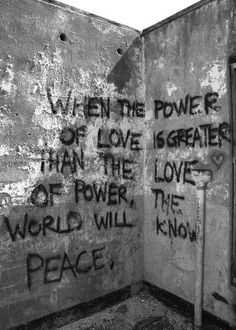 When the power...