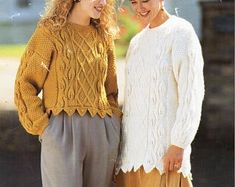 PDF Knitting Pattern Cabled Aran Jacket or Coat 34-42 | Etsy Aran Knitting Patterns, Snug, Pdf, Pullover, Wool, Sweaters, Jackets, Etsy, Design