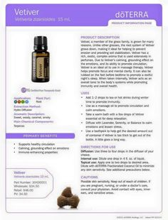 Vetiver Essential Oil Uses Veviter Essential Oil, Oil Benefits, Doterra Essential Oils, Doterra Products, Vetiver Oil, Calming Oils, Wiccan Witch, Living Essentials, Hair Treatments