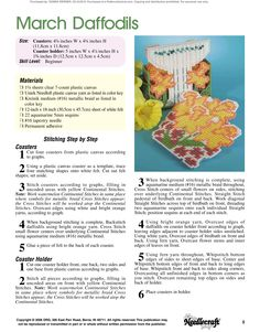 Floral Coasters Pg.6