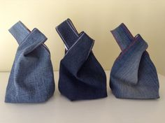 Items similar to Denim japanese knot wristlet clutch mini bag pouch case purse recycled custom made on Etsy Light Denim, Clutch Mini, Japanese Knot Bag, Denim Bag, Denim Jean Purses, Purse Patterns, Tote Bag, Boho, Handmade Bags