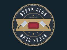 Steak Badge by Marcell Novak