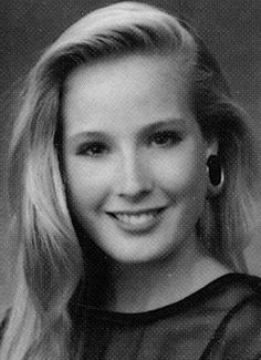 Before they were famous, lots of celebs in here that dont even remotely look the same! This is Dita Von Teese yearbook picture