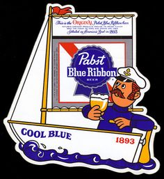 Several ads for Pabst Blue Ribbon from the 70s.
