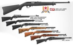 "Click on the picture to learn more about ""America's Rifle""—the Ruger 10/22. #ruger #ruger1022"