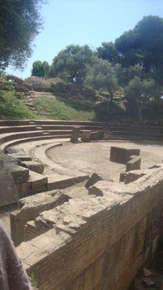 Roman ruins in Tipasa, Algeria
