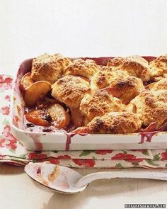 Peach-Blueberry Cobbler Recipe