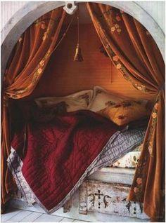 王様のベッドみたい